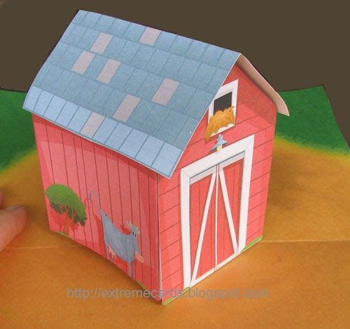 How To Make Pop Up Cards Movable Cards Mechanical Cards Sliceforms Origamic Architecture Kirigami And Unusual Papercra Paper Crafts Pop Up Cards Toy Barn