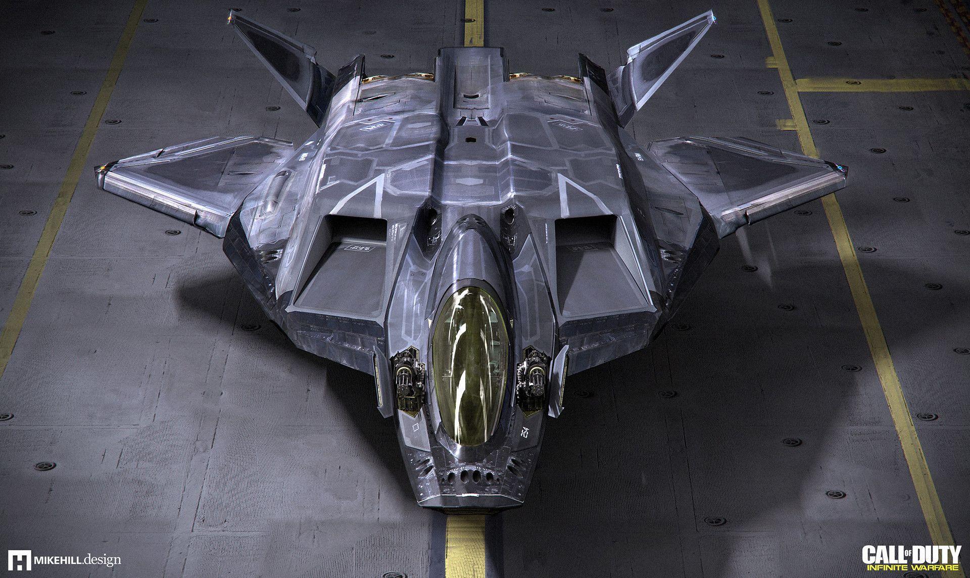 Artstation jackal call of duty infinite warfare mike hill aircrafts pinterest - Infinite warfare ship assault ...