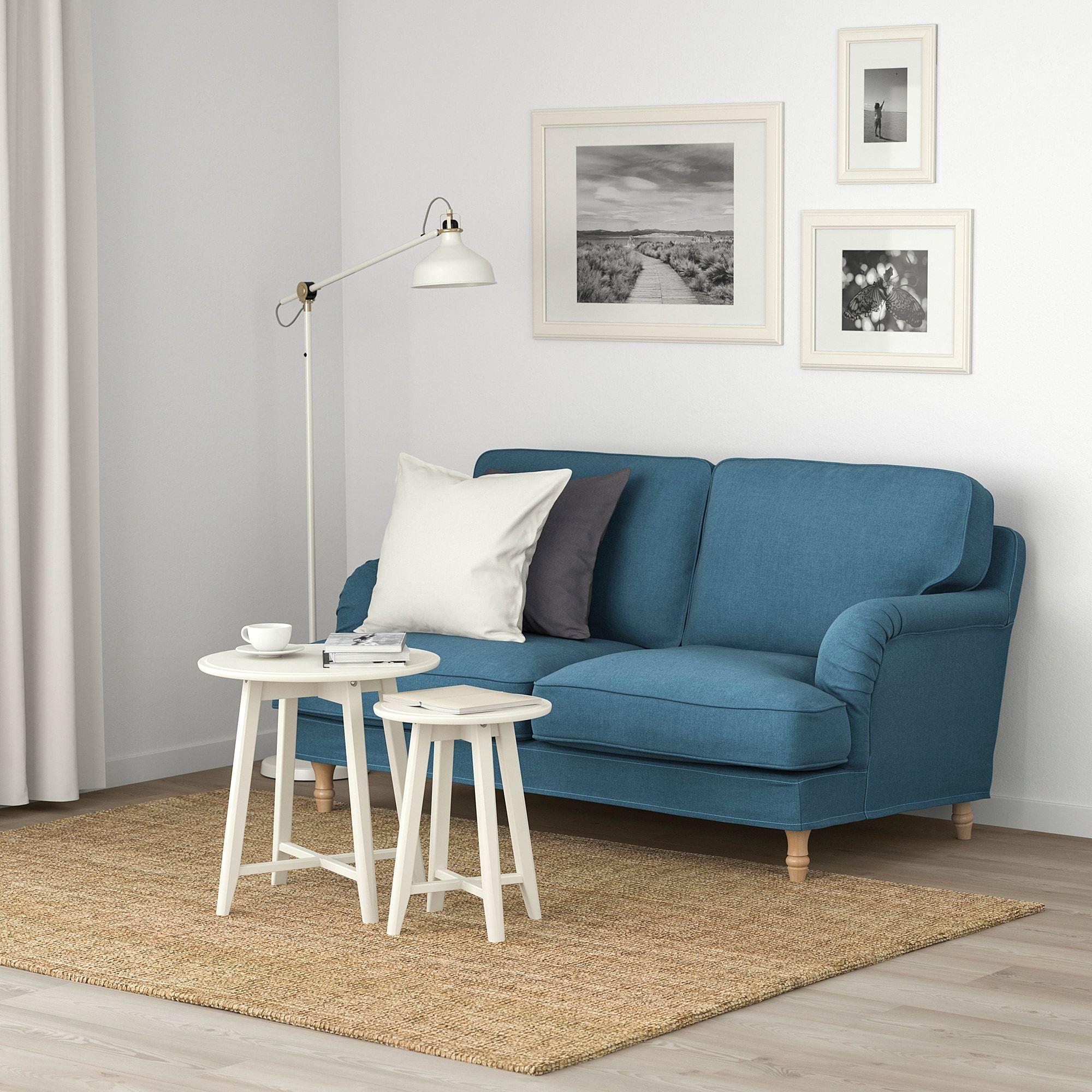 Stocksund 2er Sofa Ljungen Blau Hellbraun Holz Ikea Osterreich 2er Sofa 3er Sofa Und Schlafsofa Mit Matratze