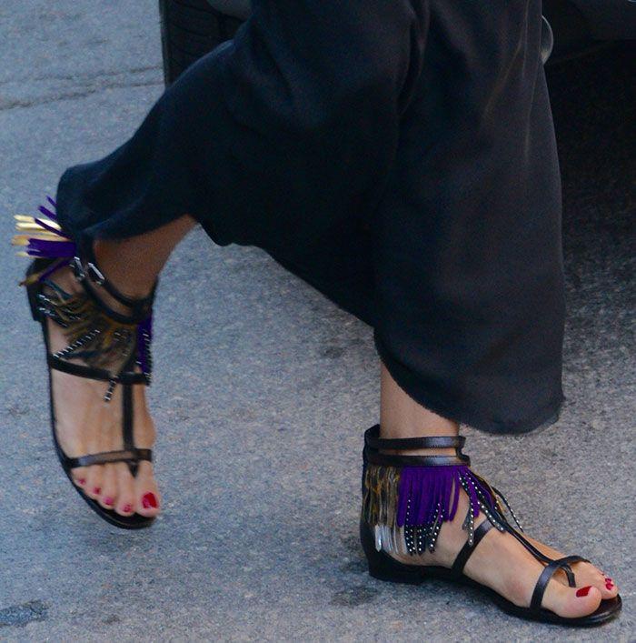 Saint Laurent 'Nu Pied' flat sandals 5WfxvC