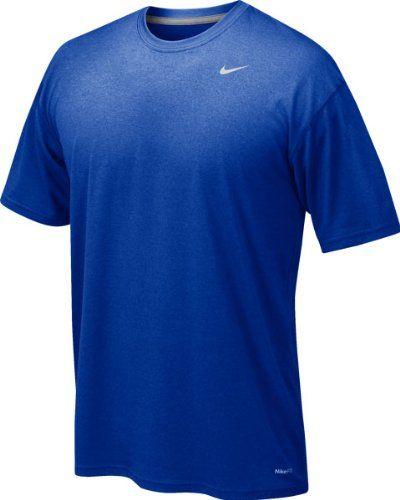 Amazon.com : Nike 384407 Legend Dri-Fit Short Sleeve Tee - XX-Large, Royal  Blue : Athletic T Shirts : Sports & Outdoors