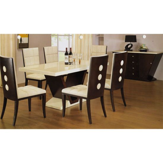 Pin By Furniture In Fashion On Dining Room Furniture Dining Table Marble Dining Room Furniture Design Square Dining Room Table