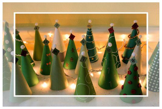 tannenwald adventskalender mit tannbaum vorlagen und anleitung adventskalender basteln und. Black Bedroom Furniture Sets. Home Design Ideas