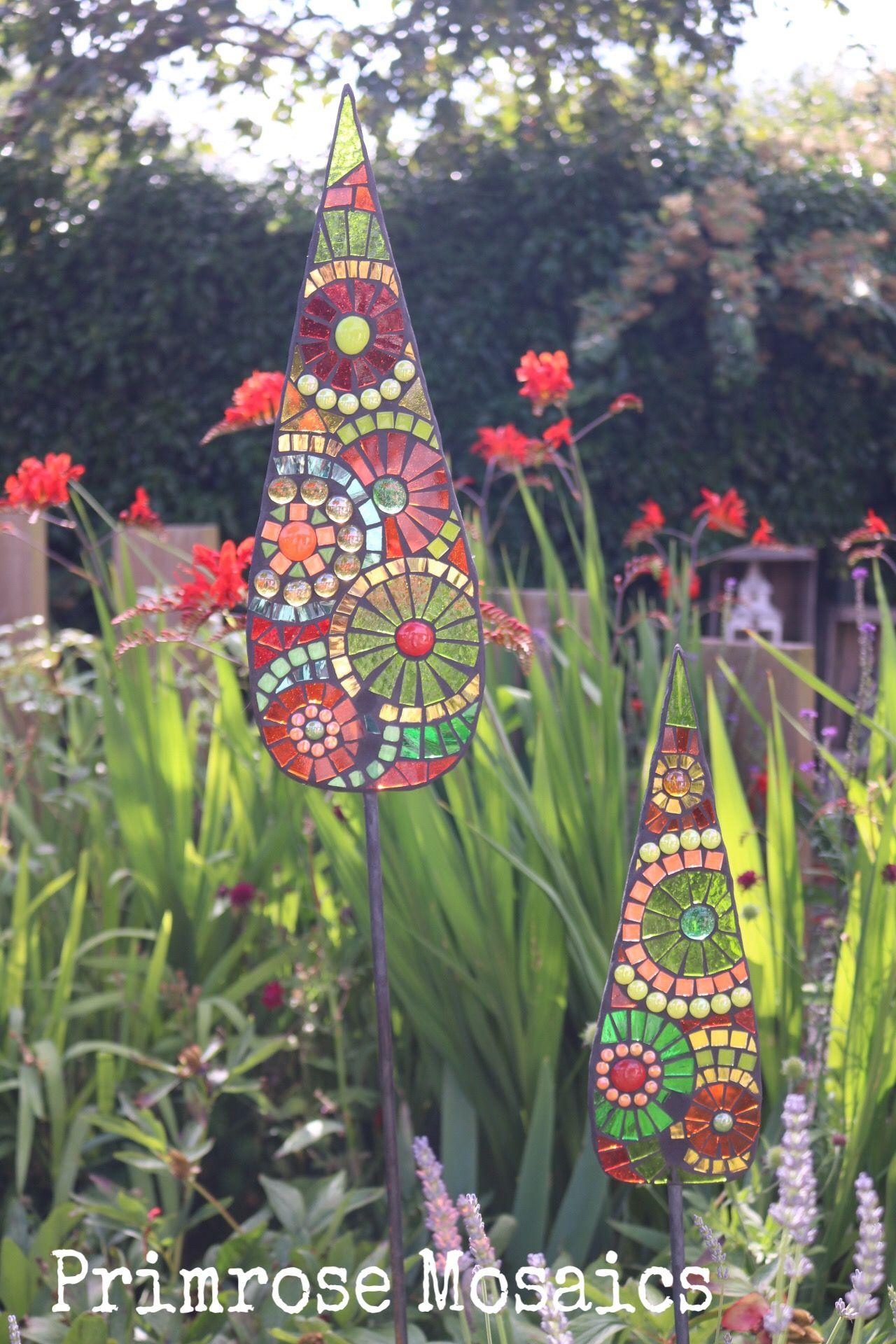 Art for the garden by Jacquie Primrose, Glass mosaic, garden ...