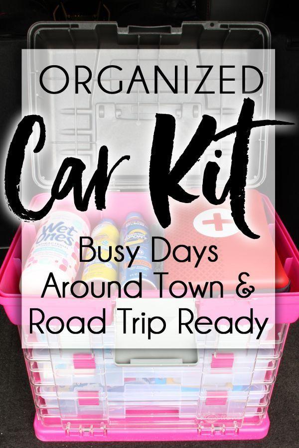 Organized Car Kit for Families On the Go