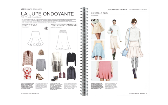 peclers KEY FASHION ITEMS TREND BOOK FALL WINTER 14-15 ...