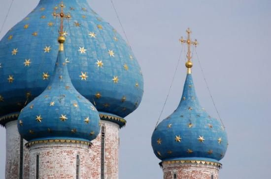 Onion domes in Suzdal, Russia - 수즈달, Suzdalsky District 사진 ...