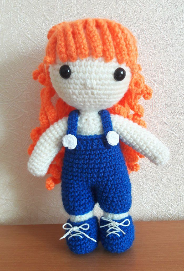 Crochet Julie muñeca amigurumi patrón | crochet | Pinterest | Muñeca ...