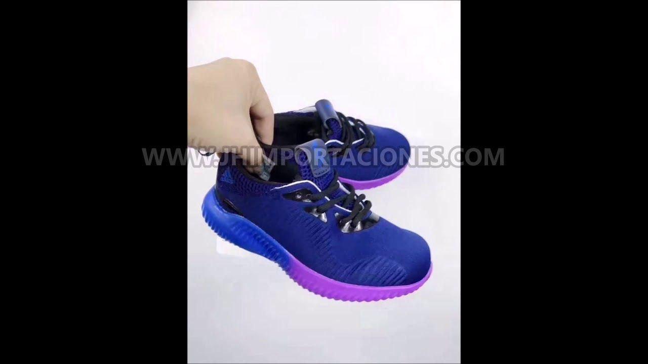Adidas alpha bounce aceso