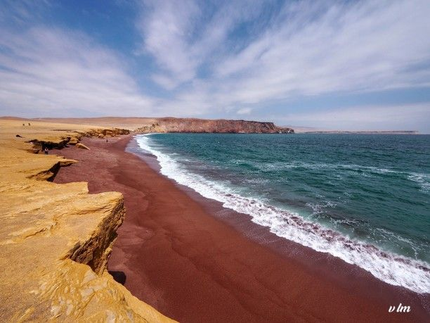 Paracas Red Beach Ica Peru Is The Highlight Of