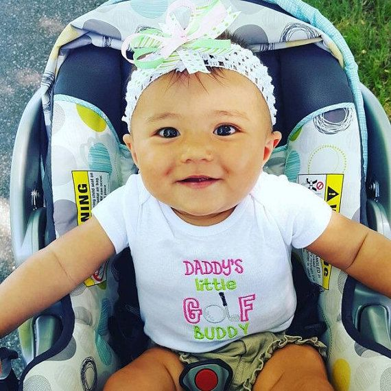 Sale 40 Off Cute Baby Girl Clothes Daddy S Golf Buddy Baby Golf