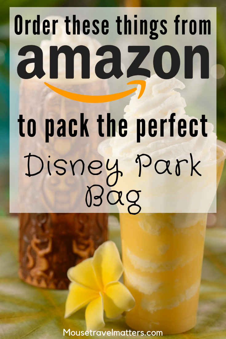 How to Pack the Perfect Disney Park Bag Ever! • Mouse Travel Matters is part of Disney world packing - What to pack in your Disney Park Bag! Things Everyone Should Bring For A Day At Disney   The Awesome Disney World Packing List is just a list of suggestions of what to pack for a Walt Disney World vacation