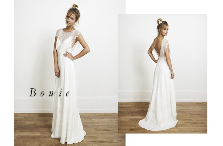 Wedding Gowns for the Edgy Bohemian | Edgy bohemian, Gowns and Weddings