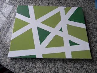 DIY Artwork- different color scheme