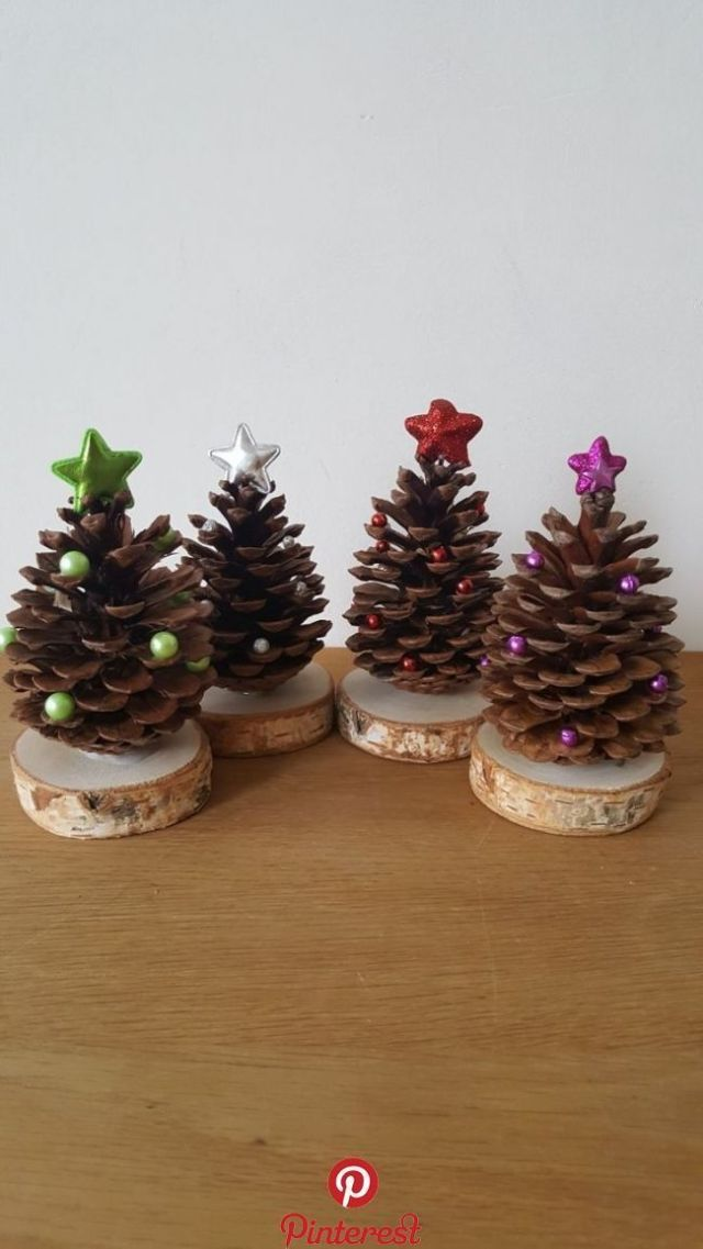 Pine cones as a Christmas tree Pine cones as a Christmas tree