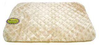 Dreamzone Plush Crate Mat Natural 35X23