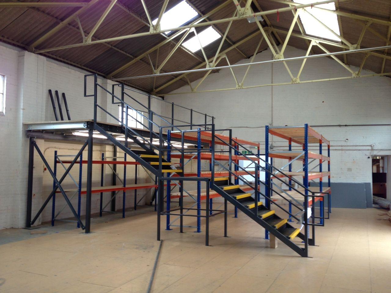 warehouse mezzanine modular office. Warehouse Fit-out Solutions. Www.hantscr-ltd.co.uk Mezzanine Modular Office