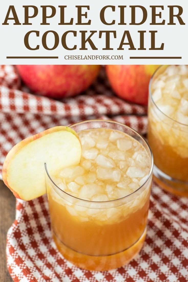 Apple Cider Cocktail #spikedapplecider