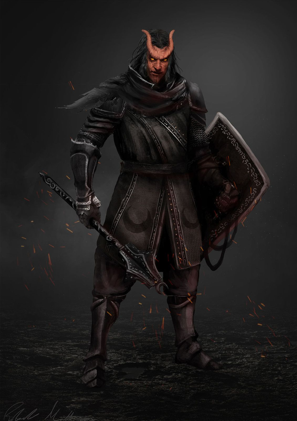 is the red knight in the 5e player handbook