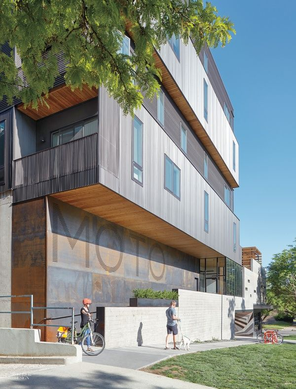 Mixed Use Building In Denver Makes A Statement On A Budget