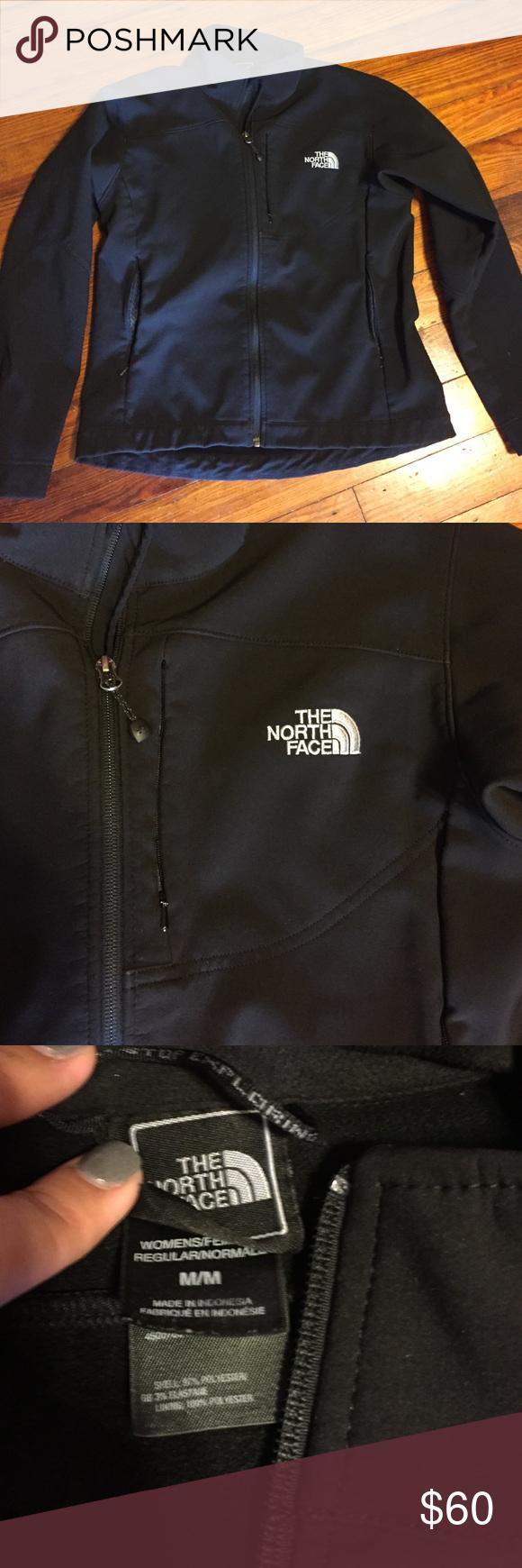 North face apex jacket Women's Medium apex north face jacket. Excellent condition! North Face Jackets & Coats