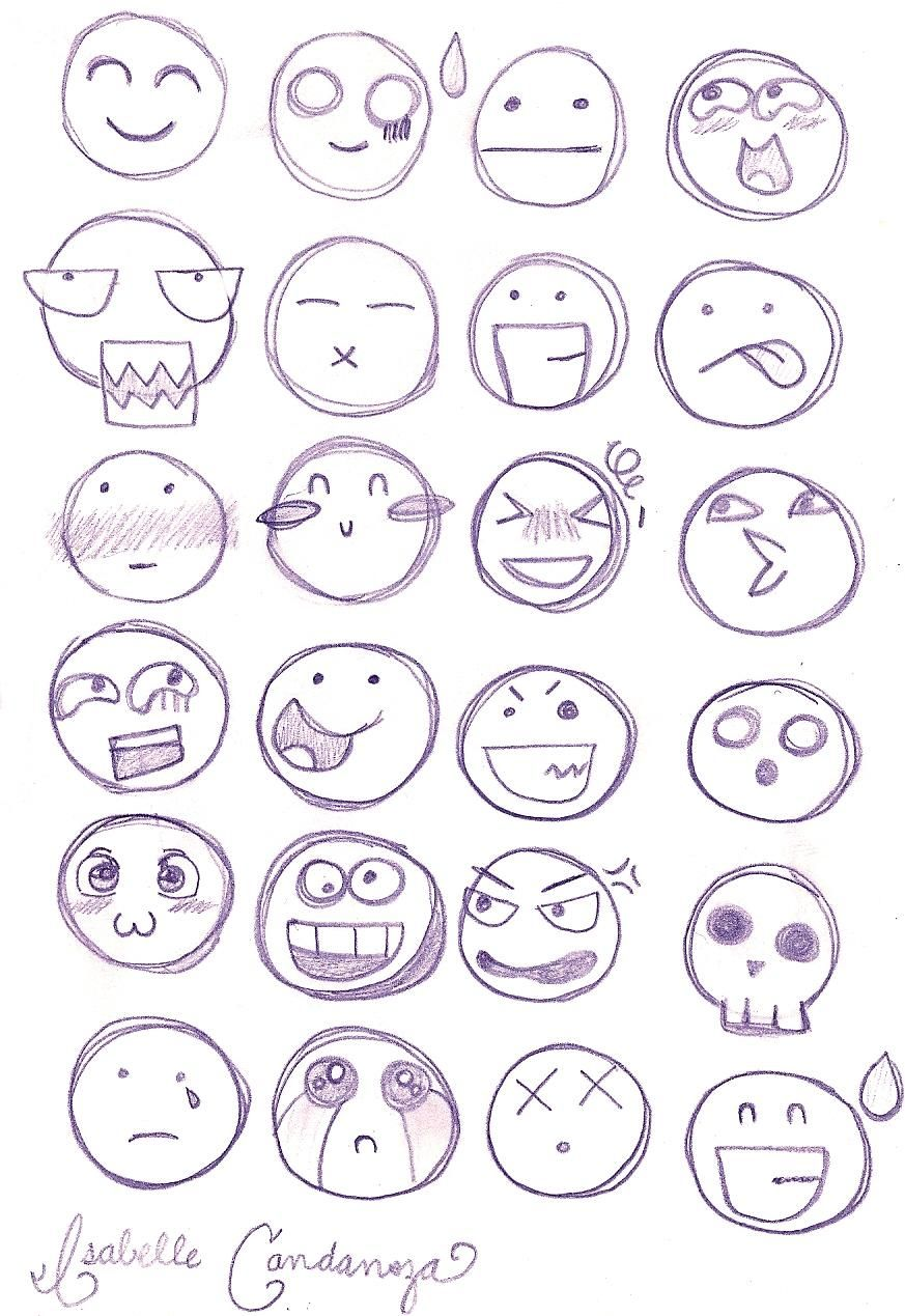 Chibi Facial Expressions by on