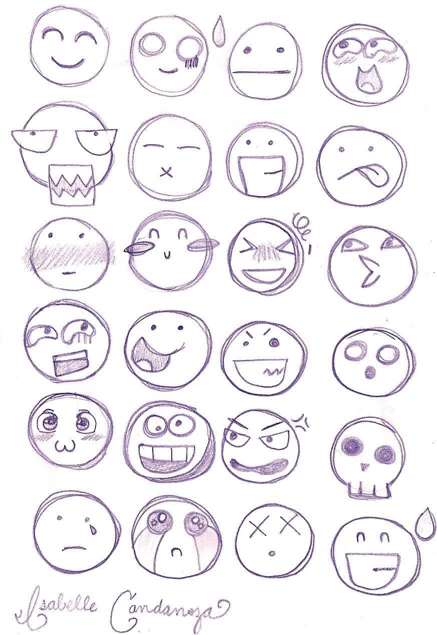 Chibi Facial Expressions by PinkTeen7.deviantart.com on @deviantART ...