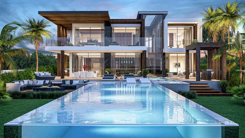 Modern Villa with beautiful seaview in Los Flamingos