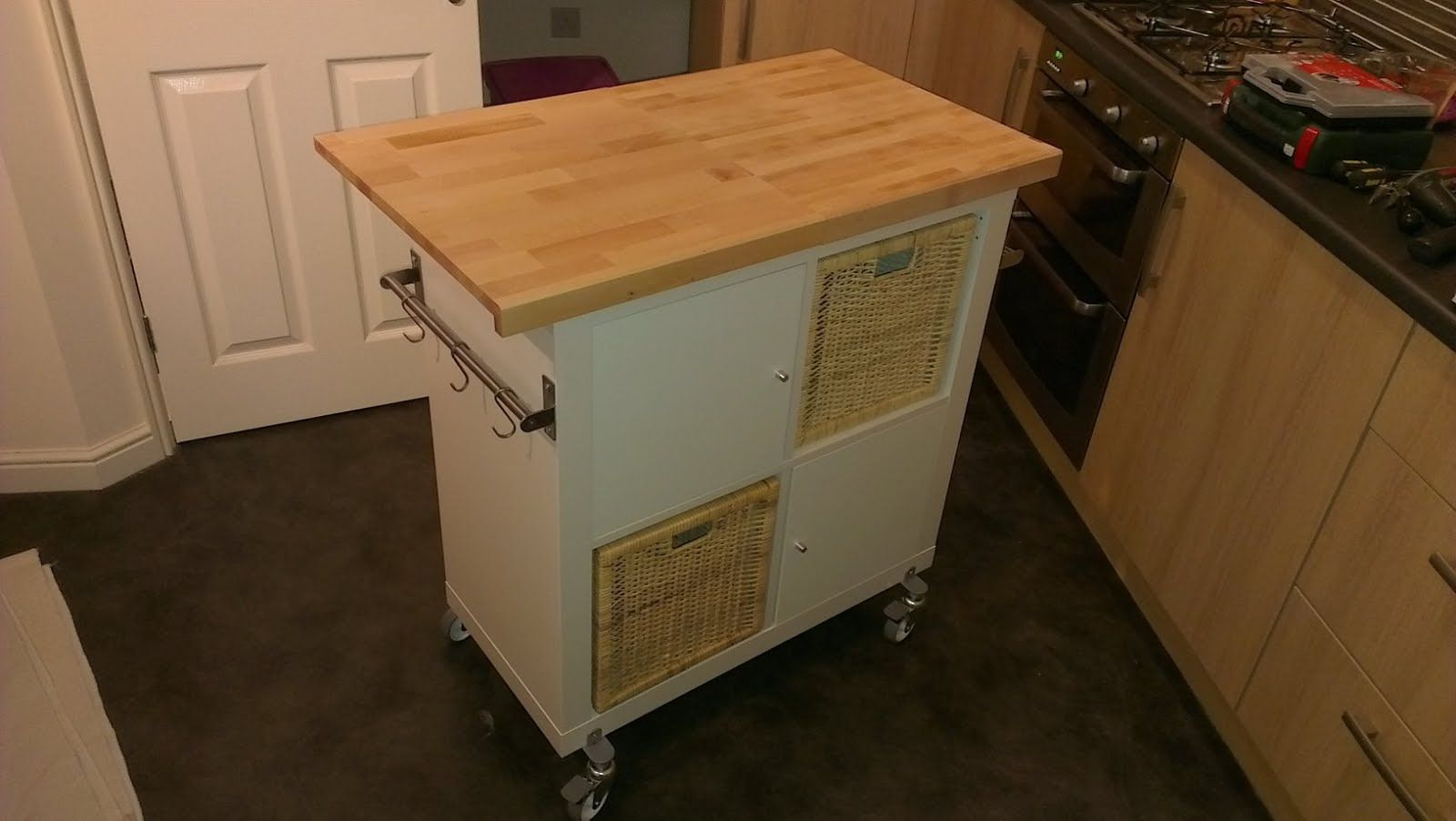 Meuble Cuisine Desserte Ikea easy expedit kitchen island | meuble rangement cuisine