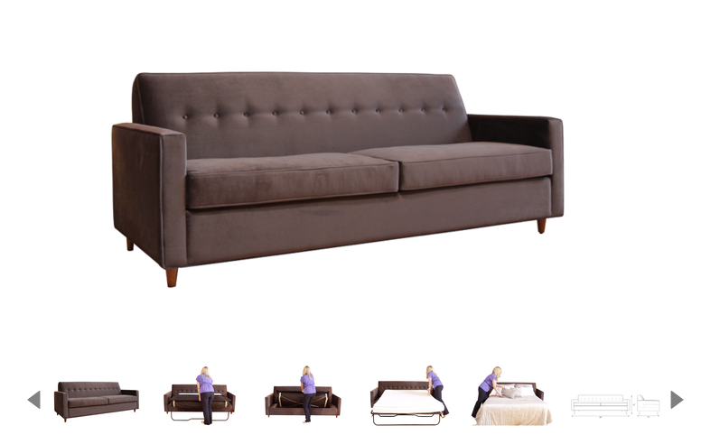 JEFFERSON SLEEPER SOFA $1 889 00 plus off black friday deal