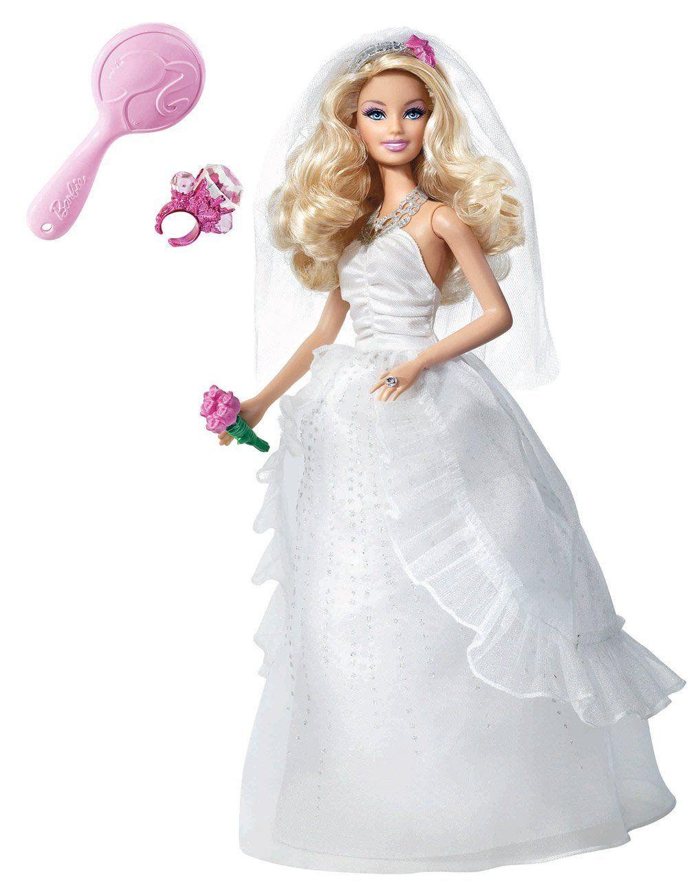 Pin By Jooana On Wedding Ideas For You Barbie Wedding Barbie