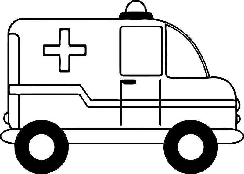 Small Ambulance Car Coloring Page Cars Coloring Pages Monster Truck Coloring Pages Truck Coloring Pages