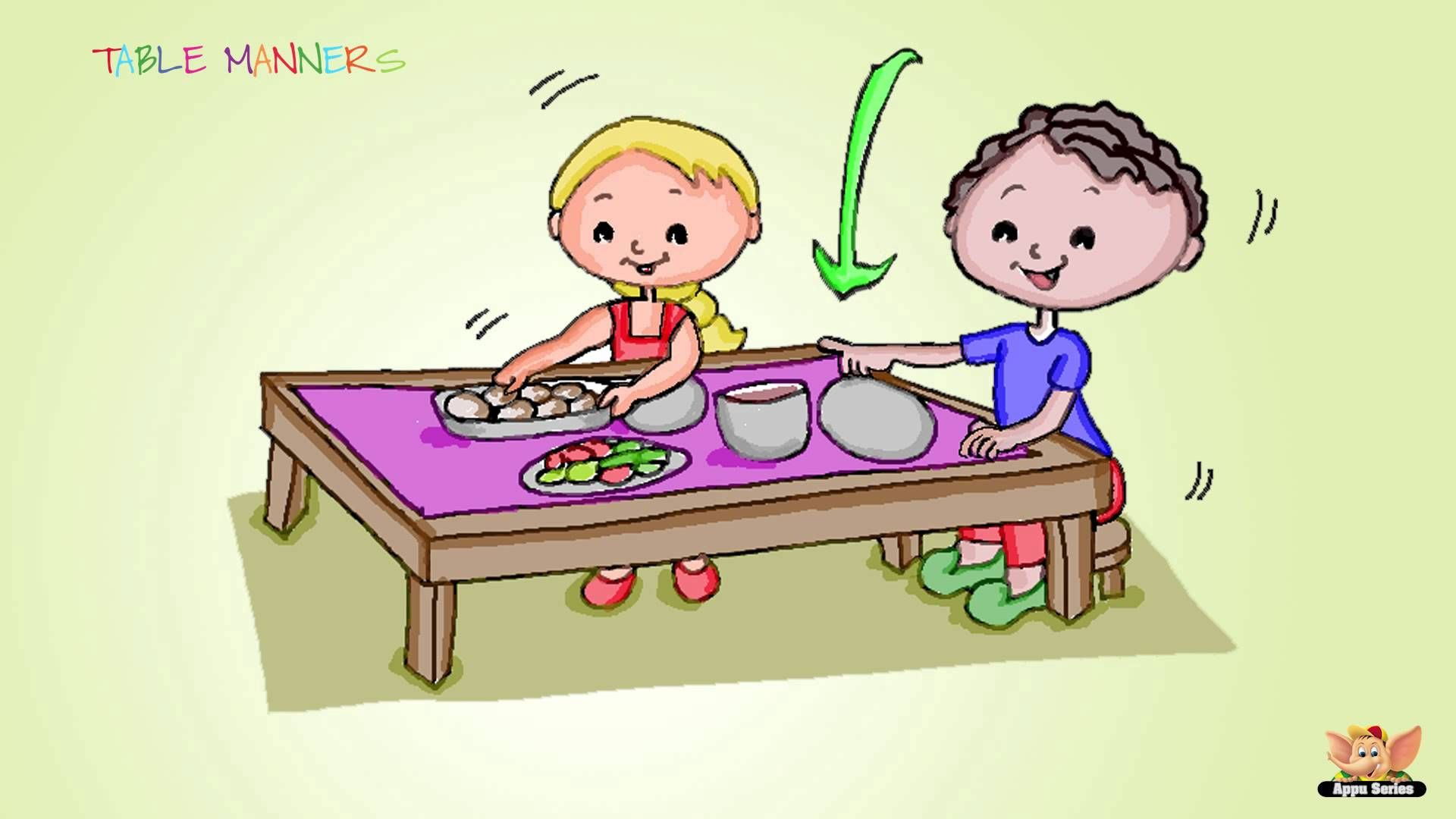 Manners And Etiquette For Children Is Ranked As The Most Important Quality To Nurture In The