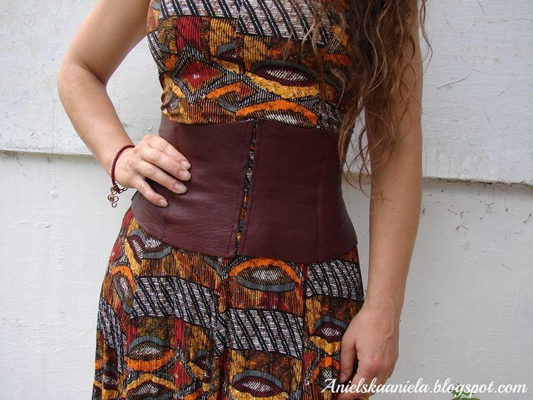Ciris leather corset belt pattern in 2020 leather