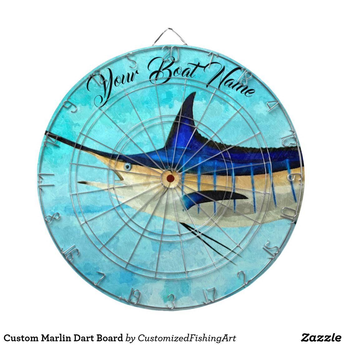 1e06e344a4657 Custom Marlin Dart Board