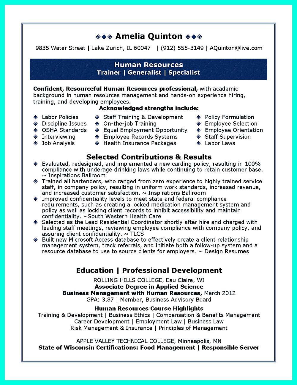 Inspiring Case Manager Resume To Be Successful In Gaining New Job Manajemen Personalia Kurikulum