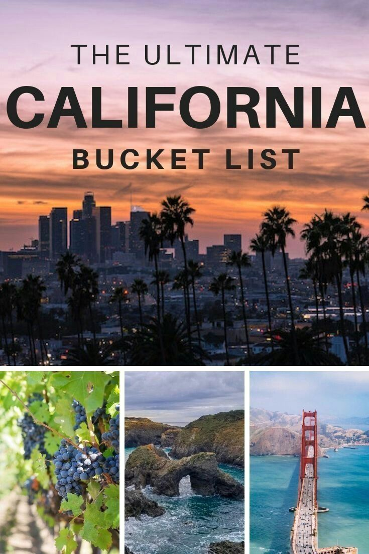 California Bucket list: Adventures in California you can't miss · Boarding Call