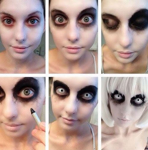20+ Easy Step by Step Halloween Makeup Tutorials for