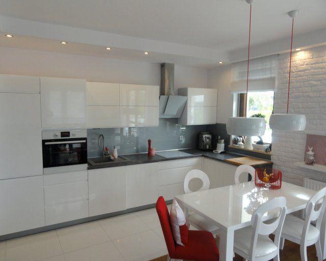 sufit podwieszany w kuchni nad szafkami  Szukaj w Google   -> Kuchnia Weglowa Okap