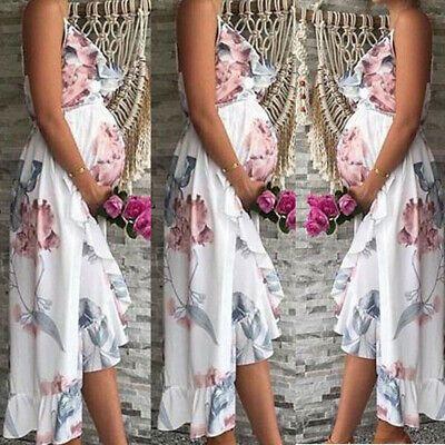 (Advertisement)eBay- Pregnant Floral Dress Womens Maternity Sleeveless Casual Loose Short Sundress US #shortsundress