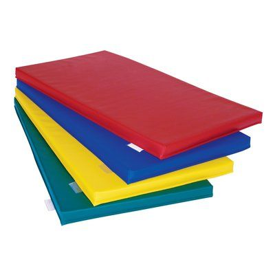 Wesco Na Deluxe Rest Mat Color Various One Of Each Color Size 2 H X 23 W X 45 D Toddler Mat Wesco Daycare Furniture
