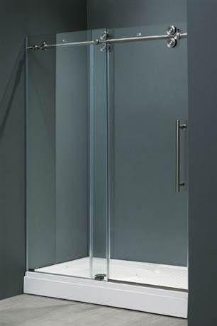 48 In Shower Door Frameless Shower Doors Shower Doors Sliding Shower Door