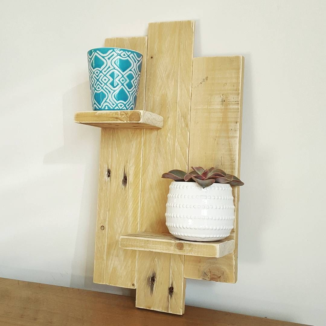 Pallet Furniture Ideas that you must try | Pallet walls, Shelf ideas ...