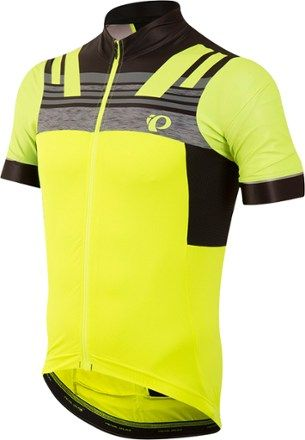 Men/'s Pearl Izumi Elite Escape SS Bike cycling Jersey Screaming Yellow 2017