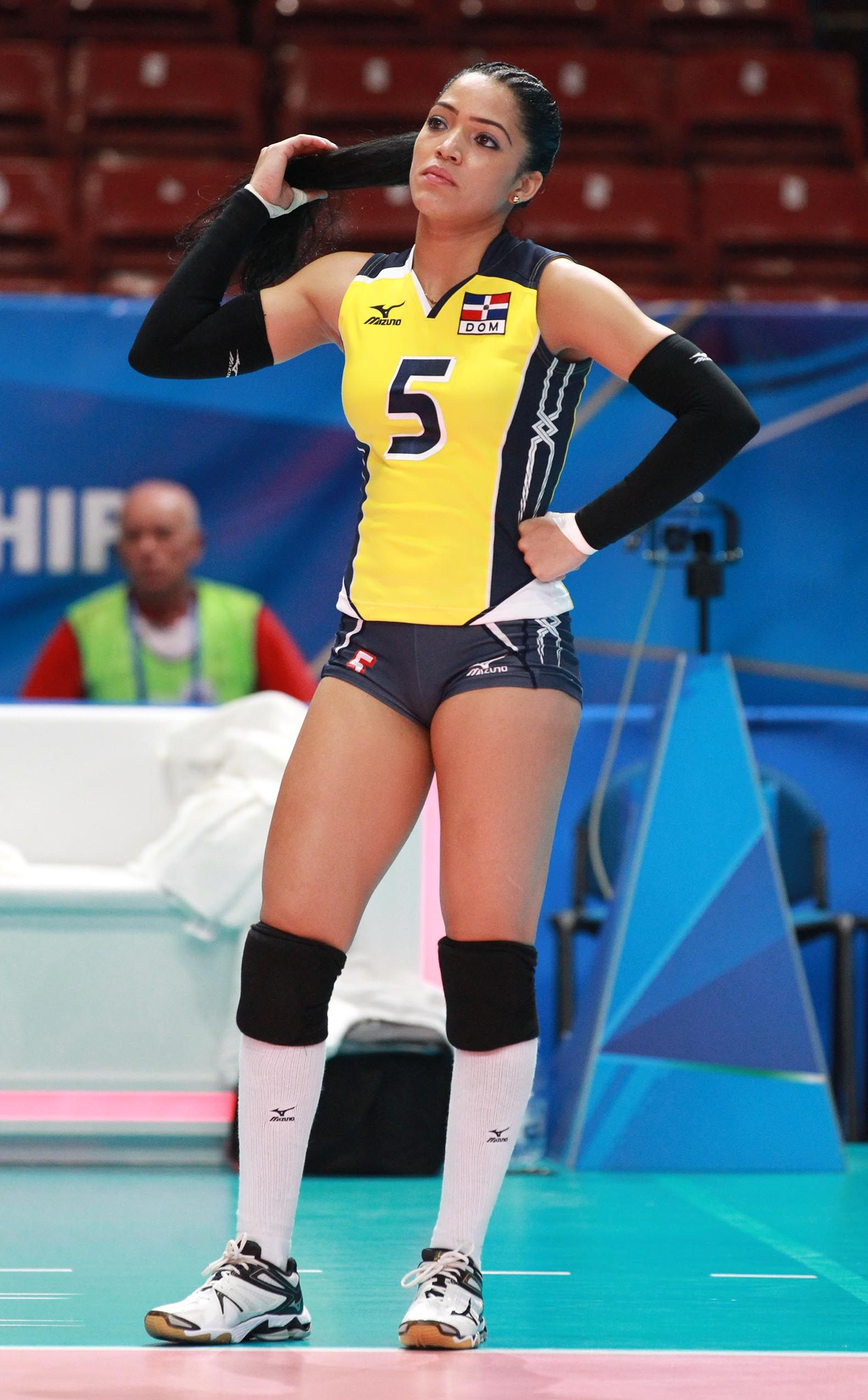 Brenda Castillo Il Libero Dell Repubblica Dominicana Female Volleyball Players Volleyball Players Sports Women