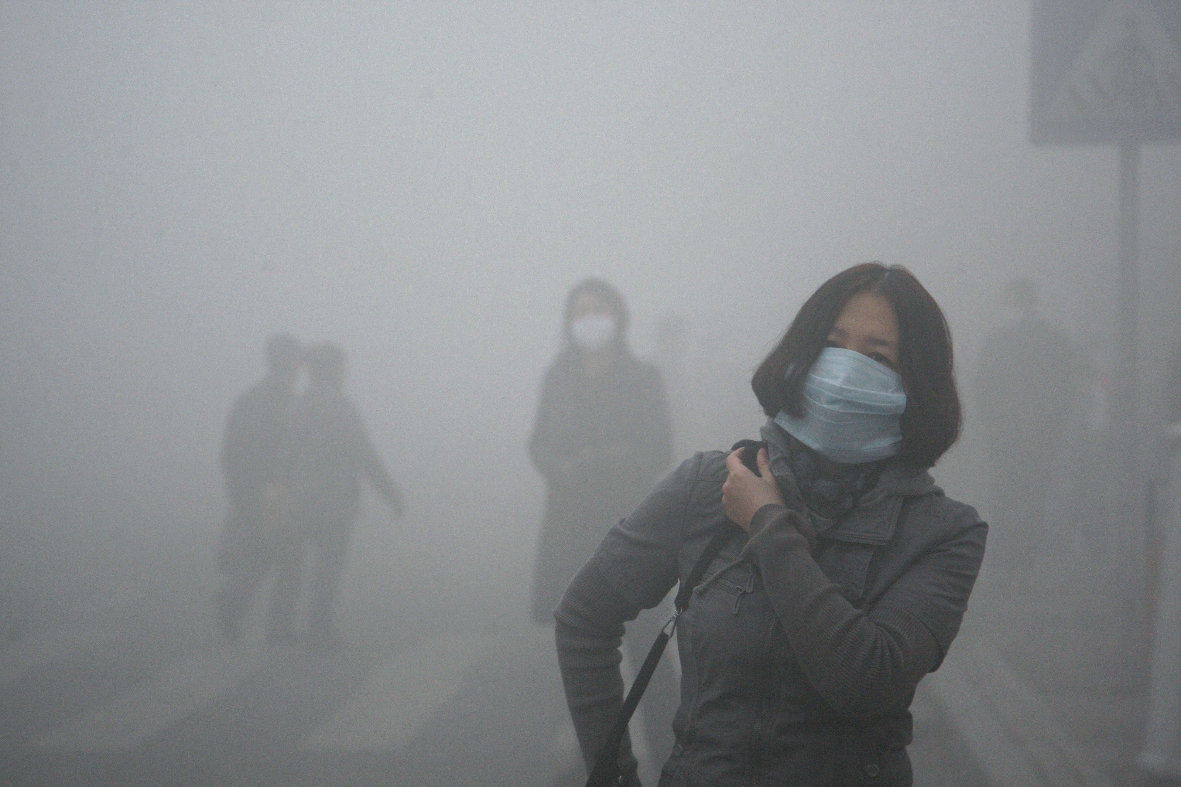 smog China Air pollution, Pollution, Environmental problem