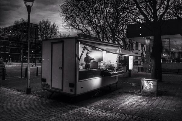 Loempia op de Katterug. Foto: Hans van Dongen (via @BDStadsgezicht)