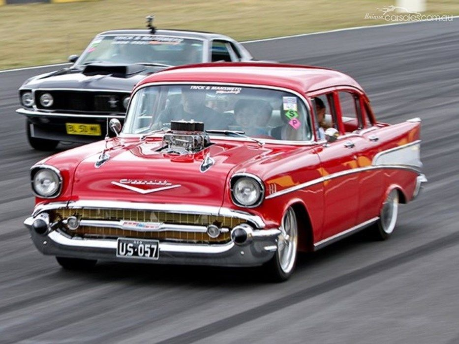Monster \'57 CHEV BEL AIR from uniquecarsales.com.au #coolcars | C10 ...