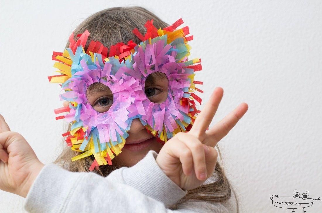 M scara de carnaval emplumada carnival - Mascaras para carnaval manualidades ...