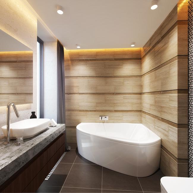 Дизайн проект маленькой квартиры в стиле модерн в г: Дизайн маленькой ванной комнаты в стиле модерн